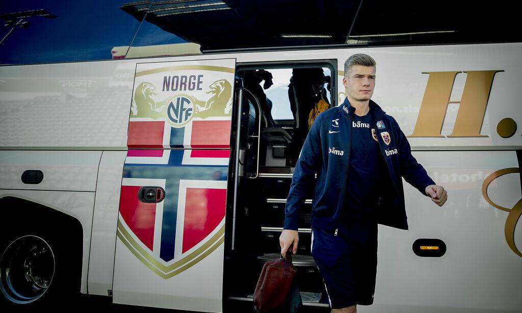 image: TV 2-kommentator tror på rask debut for Sørloth