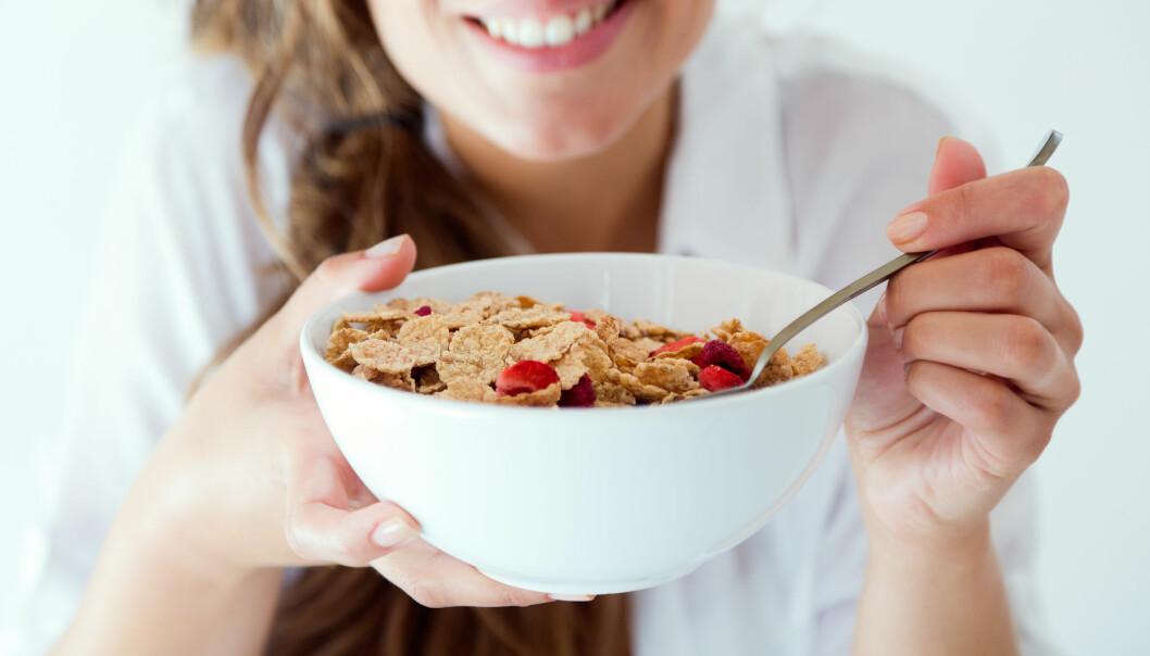 FROKOST: Dagens første måltid er viktig for god helse, ifølge nyere forskning. FOTO: NTB Scanpix