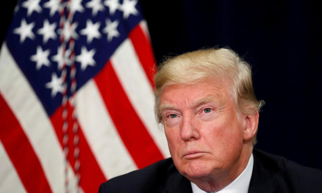 KLIMAENDRINGENE: USAs president har tidligere kommet med en rekke klimafornektelser. I dag har Det hvite hus godkjent en føderal klimarapport som sier presidenten imot. Foto: NTB Scanpix