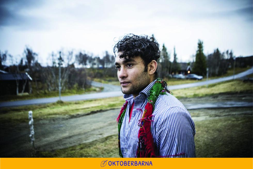 - FÅR IKKE SOVE: Raz Mohammed bor på mottak i Meråker mens han venter på at UNE skal avgjøre hans skjebne. Foto: Christian Roth Christensen