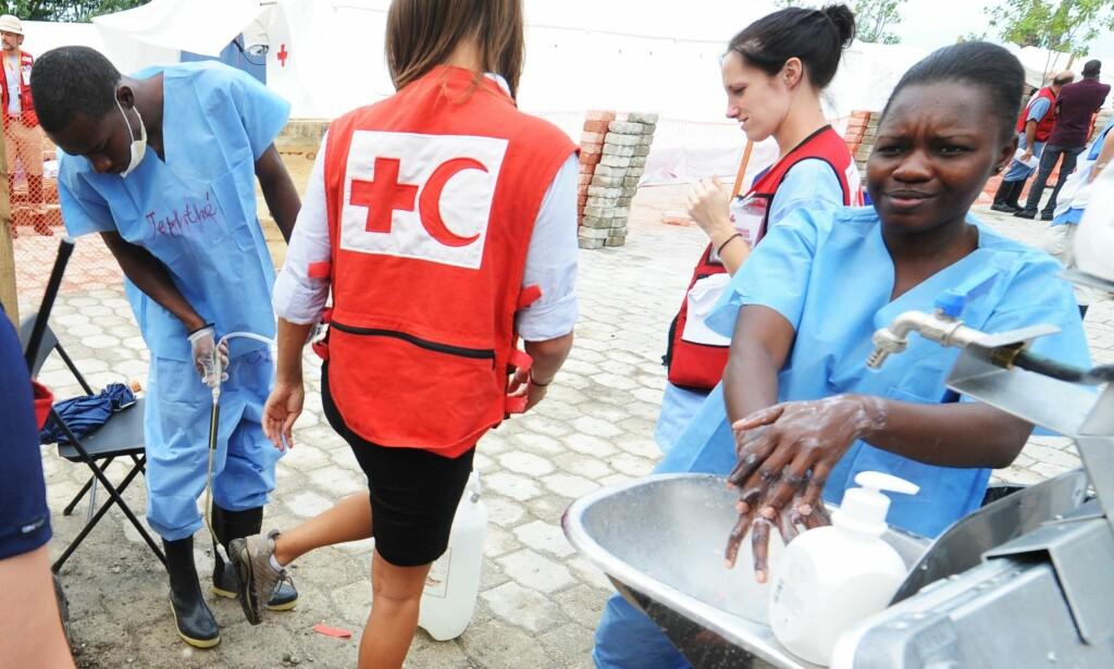 HAITI: Nødhjelp etter jordskjelvet i 2010.