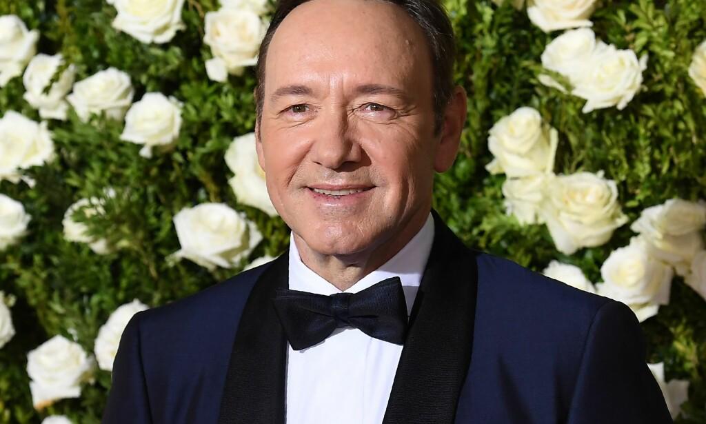 FLERE BESKYLDNINGER: Kevin Spacey blir av enda flere beskyldt for seksuell trakassering. Foto: AFP
