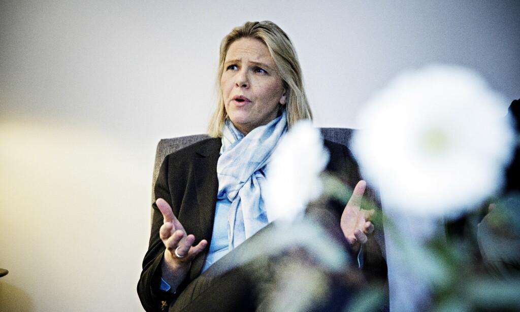 OPPRYKK? Innvandrings- og integreringsminister Sylvi Listhaug er aktuell for å overta for Frp-kollega Per-Willy Amundsen som justis- og beredskapsminister. Foto: Nina Hansen / Dagbladet