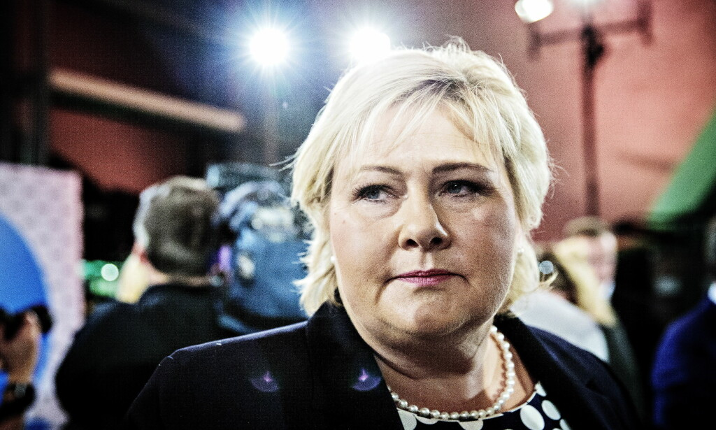 BEKLAGER: Statsminister Erna Solberg beklager til sosionomer hun har opprørt. Foto: Nina Hansen / Dagbladet