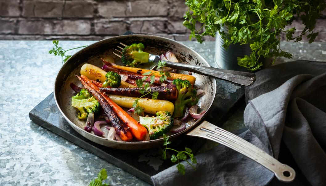 ED-DIETT: Denne dietten passer godt for de som liker å spise store porsjoner med mat, og masse grønnsaker.FOTO: NTB Scanpix