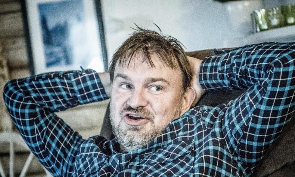 UTEN SEX OG INTRIGER: «Farmen»-Halvor Sveen skal være med i en ny realityserie, som ikke skal preges av sex og intriger, som ofte dominerer slike konsepter. - Her blir det ikke noe sex, men mye annet spennende som garantert vil appellere, sier Bernt Nor, daglig leder i jakt og fiskenettstedet Hooked, som står bak reality-konseptet «Jaktlaget». Foto: Thomas Rasmus Skaug / Dagbladet