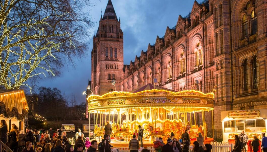 LONDON: Her er alt fra det tradisjonelle German Christmas Market til de alternative Angels and Fairies Markets fylt med utsøkte smykker, håndverk og leker.