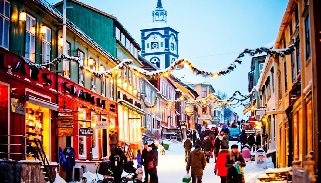 RØROS: I Røros får du garantert julestemning!