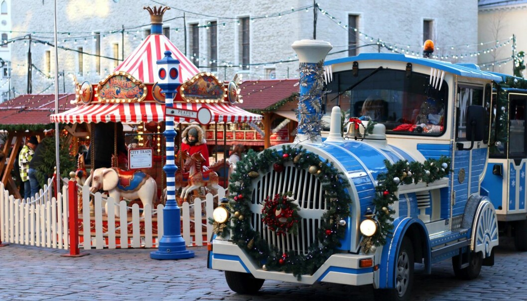 TALLIN: The Times har omtalt julemarkedet i Tallinn som ett av de beste i Europa!