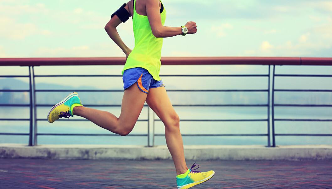 KONDISJONSTRENING: All aktivitet og trening er bra, men du bør trene hardt et par ganger i uka. FOTO: Scanpix.com