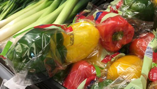 Derfor kan plastemballasje på frukt og grønt være bra for miljøet