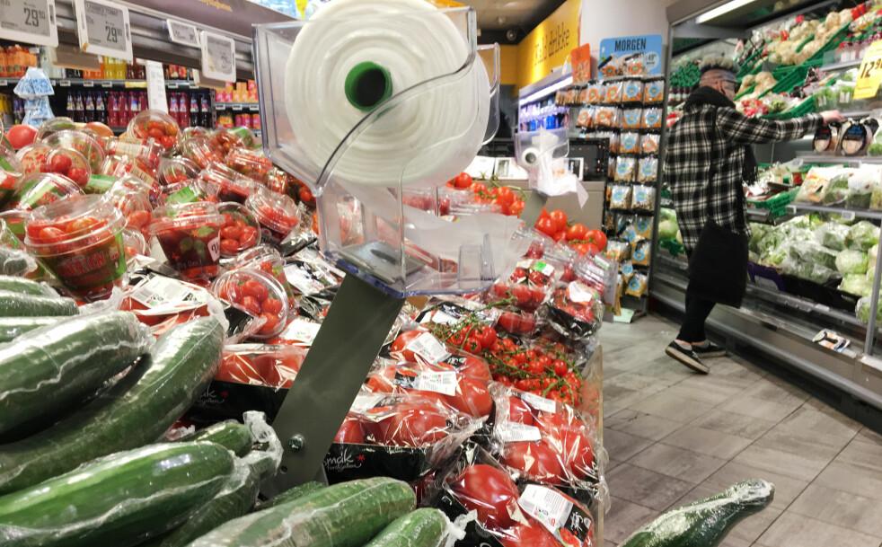 <strong>BRA MED PLASTEMBALLASJE:</strong> Det hevder Nofima, som har sett på hvordan emballasje påvirker holdbarheten på blant annet frukt og grønt. Foto: Berit B. Njarga