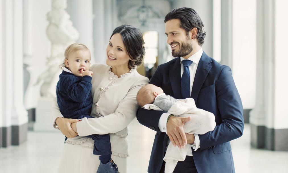 <strong>PRINSESSE SOFIA:</strong> Sammen med ektemannen prins Carl Philip har prinsesse Sofia sønnene prins Alexander og prins Gabriel. Foto: Erika Gerdemark for Kungahuset.se