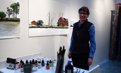 ILDSJEL: Melinda Hunt har startet et eget prosjekt for å gjøre Hart Islands dystre historie kjent. Hun, og prosjektet hun leder, ønsker også å åpne øya for publikum og gjøre den til en offentlig park. Foto: Privat