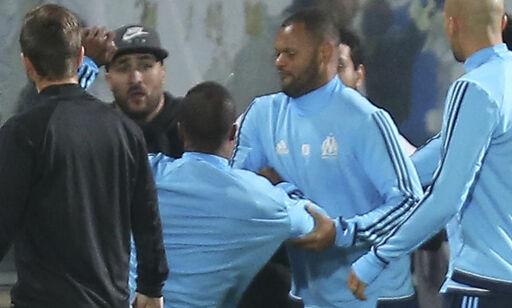 image: Evra ferdig i Marseille etter å ha sparket tilskuer i hodet