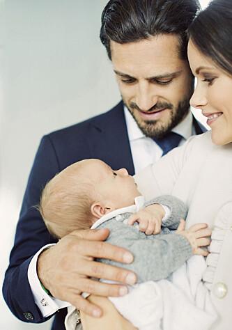 <strong>KLAR FOR DÅP:</strong> Fredag 1. desember døpes prins Gabriel, prinseparets yngste sønn, i Drottningholms slottskyrka. Foto: Erika Gerdemark for Kungahuset.se
