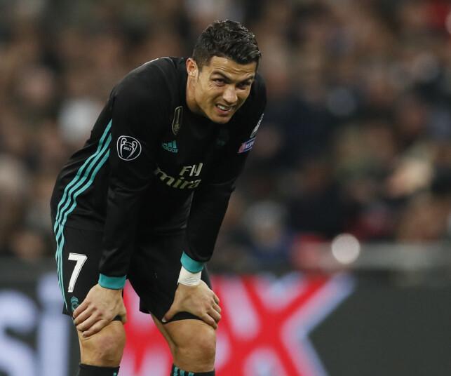 FIKK HVILE: Superstjerne Cristiano Ronaldo. Foto: David Klein/Sportimage via PA Images/NTB Scanpix