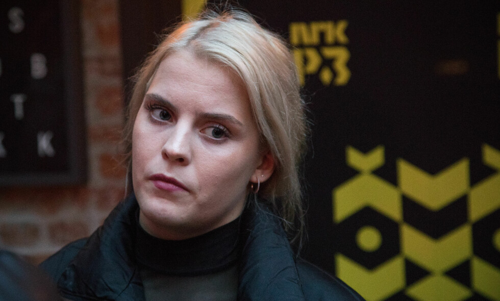 HETS: Ulrikke Falch blir omtalt som dobbeltmoralsk på bakgrunn av at hun er blitt sammen med reality-deltaker Henrik Elvejord Borg. Det finner hun seg ikke i. Foto: NTB Scanpix