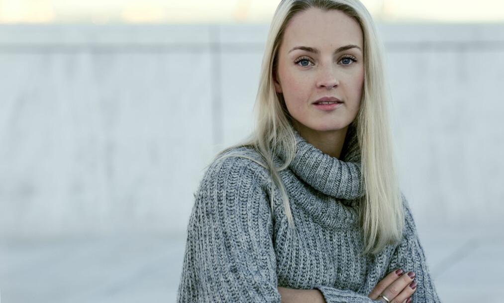 """ÅPNET OPP OM EGNE PSYKISKE PROBLEMER: Trine Lind Vestli angrer ikke på at hun deltok i tv-programmet """"Jeg mot meg"""" på NRK, men tror ikke alle typer problemer egner seg å ta opp på tv. FOTO: Astrid Waller"""