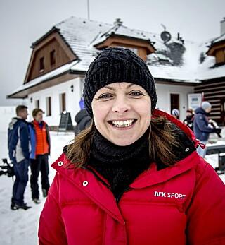 - UROVEKKENDE: Tidligere skiskytterdronning og nå kommentator, Liv Grete Skjelbreid, synes det er urovekkende stor mangel på unge, aktive skiskyttere. Foto: Bjørn Langsem / DAGBLADET.
