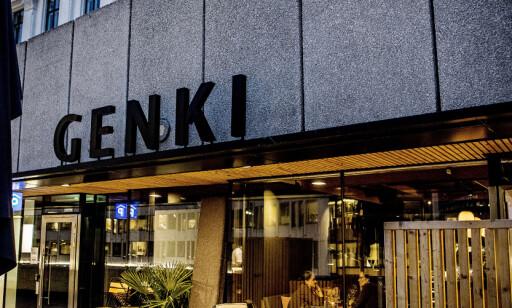 I VIKA: Genki ligger sentralt på Vikaterrassen i Oslo.