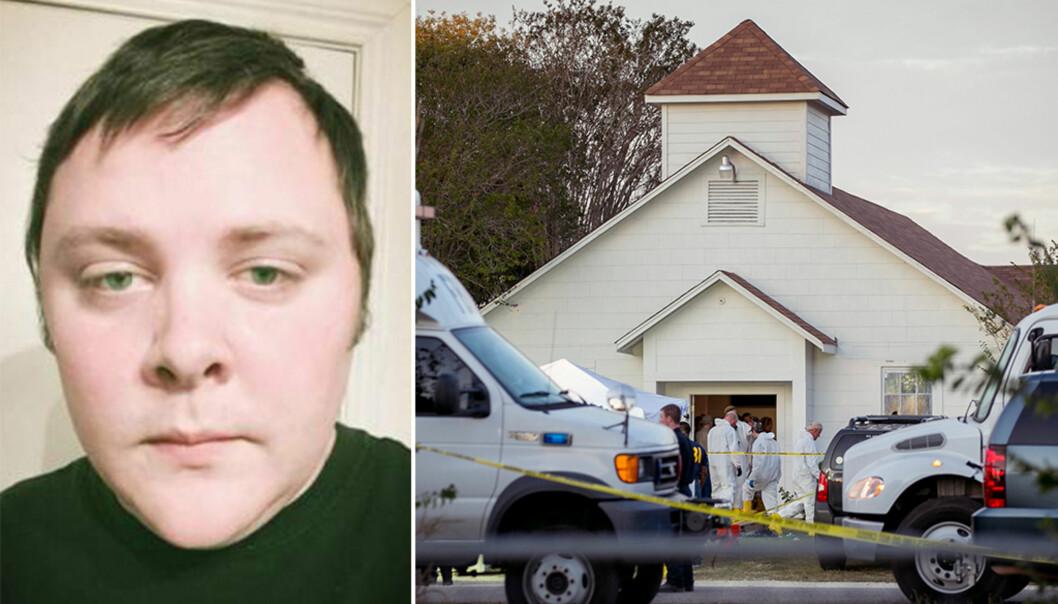 <strong>MASSAKRE:</strong> Devin Patrick Kelley er identifisert som gjerningsmannen bak massakren i Texas. Foto: Jay Janner / Austin American-Statesman / AP / NTB Scanpix