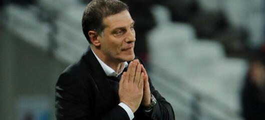 SISTE: Bilic ferdig som West Ham-manager