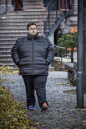 - KAN IKKE SLUTTE Å STOLE PÅ FOLK: Jørgen Foss. Foto: Jørn H. Moen