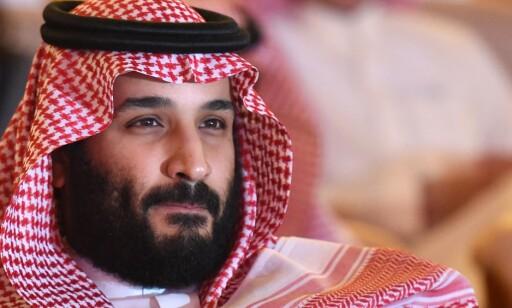 KRONPRINS: Mohammed bin Salman. Foto: AFP Photo / Fayez Nureldine / NTB Scanpix