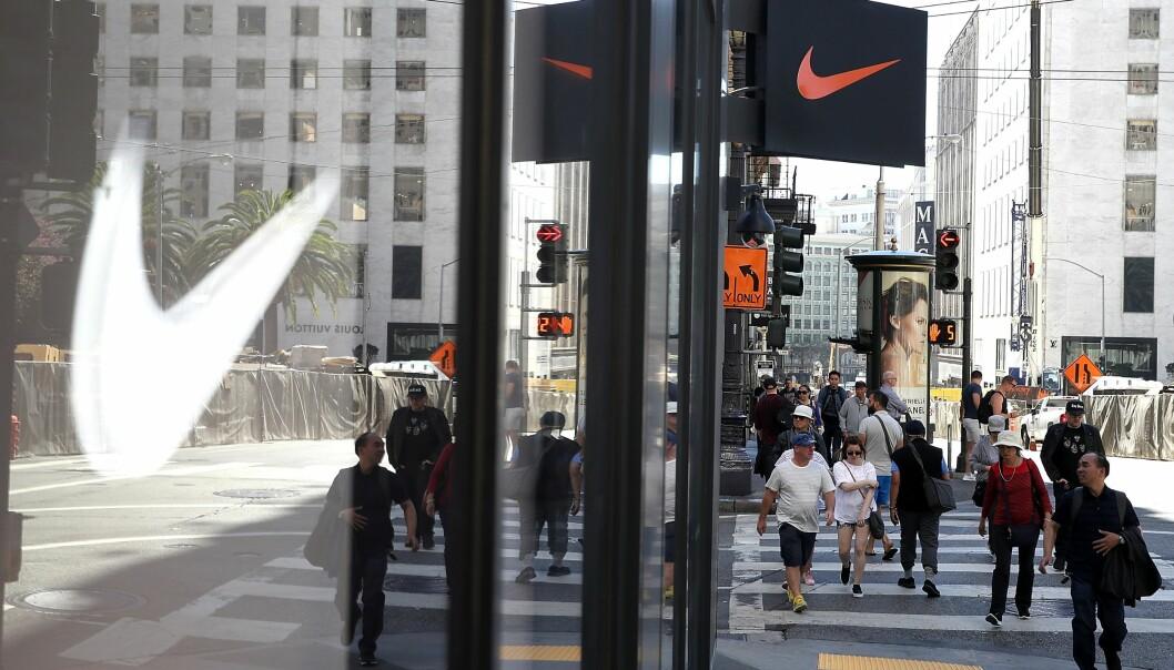 <strong>Paradise Papers:</strong> Nike er ett av selskapene som omtales i den store dokumentlekasjen som går under tilnavnet Paradise Papers, også omtalt som oppfølgeren til Paradise Papers. Foto: Justin Sullivan / AFP / NTB Scanpix