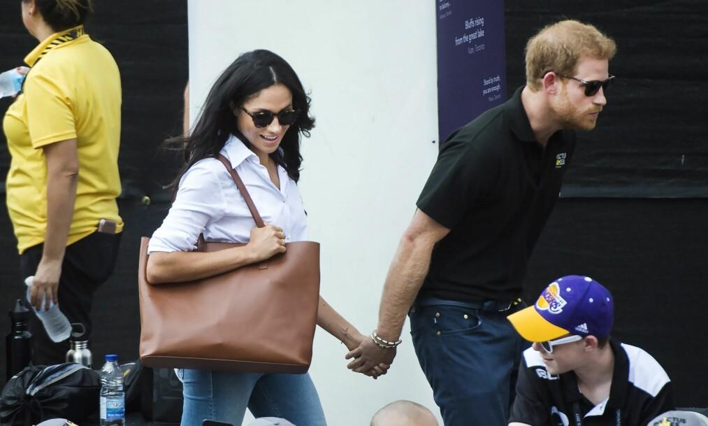 SLEKTSGRANSKING: I en ny undersøkelse viser det seg at prins Harrys forfar skal ha halshogget forfaren til hans kjæreste Meghan Markle. Foto: NTB Scanpix