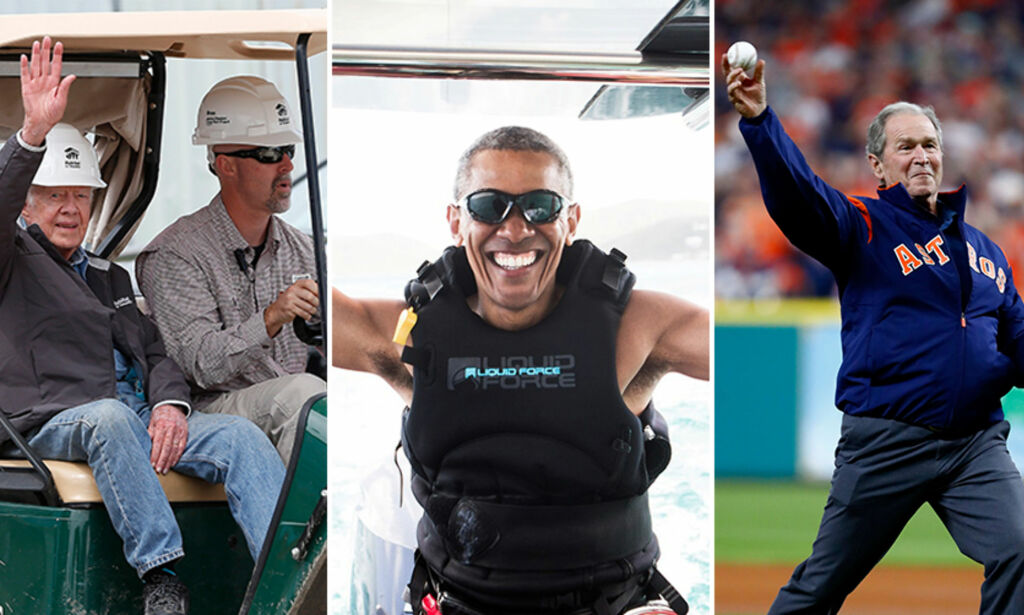 image: Presidentenes liv etter Det hvite hus: - Flyttet hjem til milliongjeld og gjengrodd eiendom