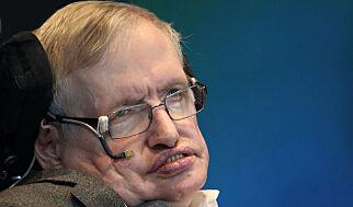 image: Fysikeren Stephen Hawking er død