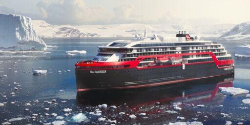 image: Se bildene fra de nye Hurtigrute-skipene