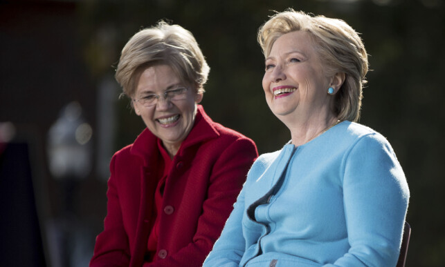 ARVTAKER?: 68 år gamle Elizabeth Warren har raskt etablert seg som en av favorittene til å kjempe mot Donald Trump under presidentvalget i 2020. Mange mener hun er en naturlig arvtaker for Hillary Clinton. Foto: Andrew Harnik / AP / NTB Scanpix