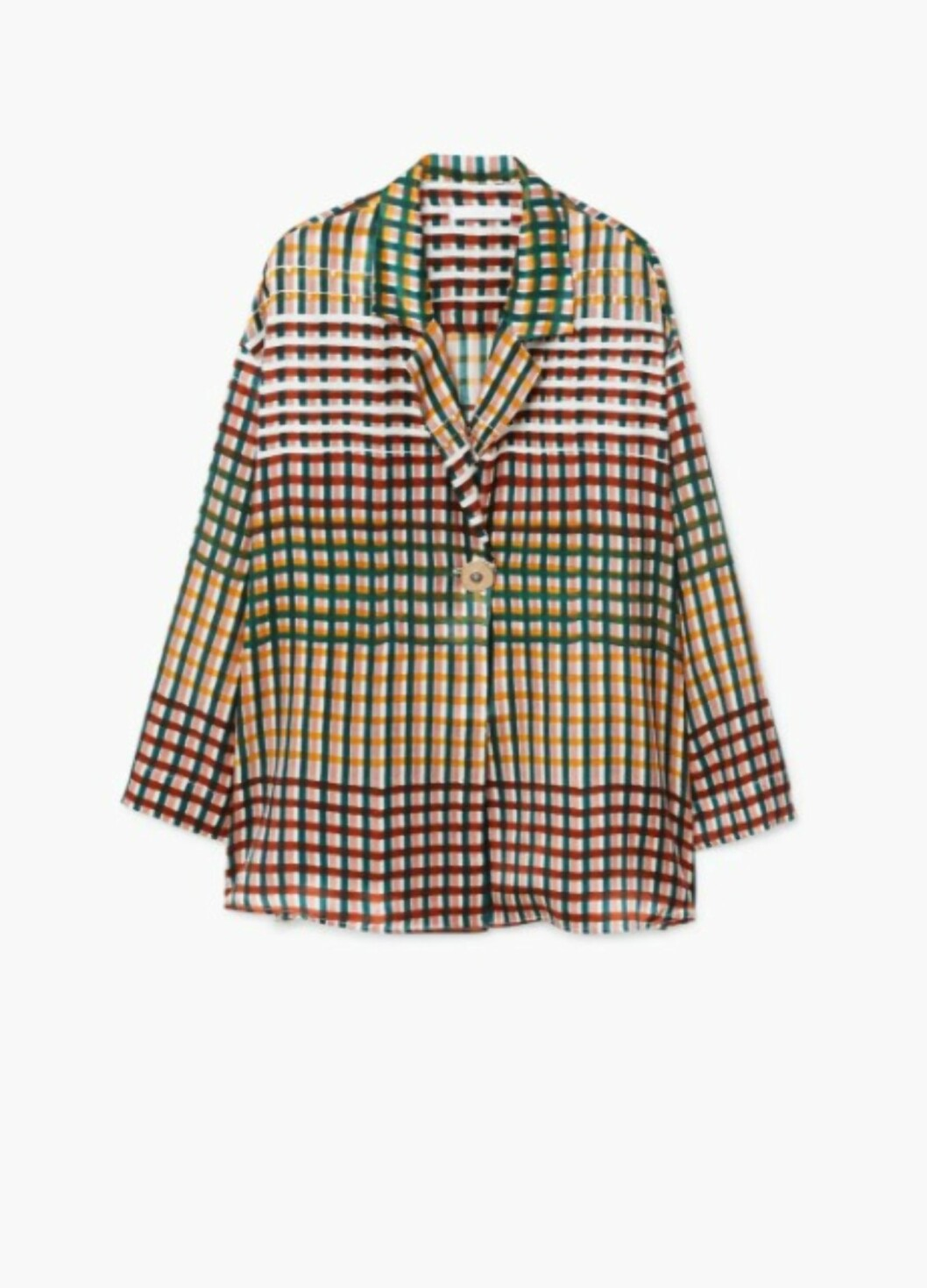 Skjorte fra Mango  1399,-  https://shop.mango.com/no/damer/skjorter-bluser/dobbelspent-silkebluse_11019052.html?c=49&ts=1510138252569