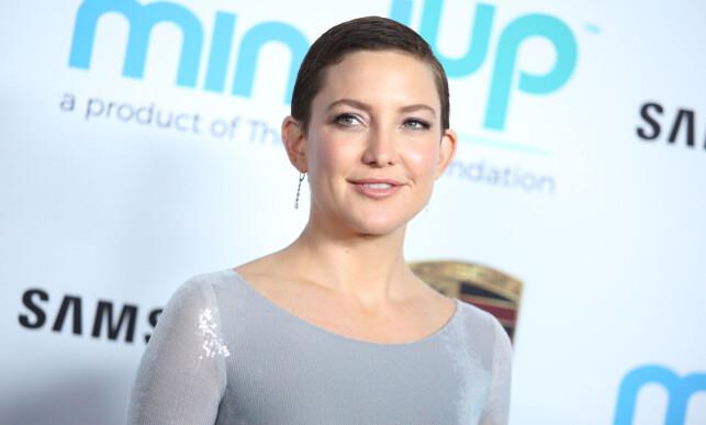 RYKTER: Kate Hudson har ikke møtt Brad Pitt på fire år. Det har ikke vært et hinder for romanseryktene. Foto: NTB scanpix
