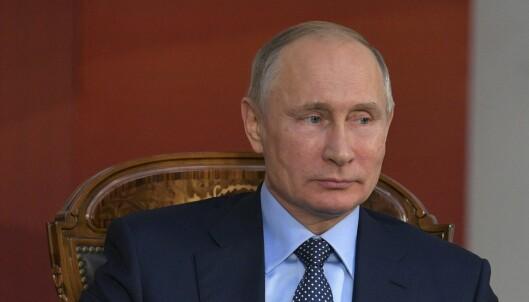 Putin hevder USA står bak dopingutestengelser: – Hevn for vår påståtte involvering i valget