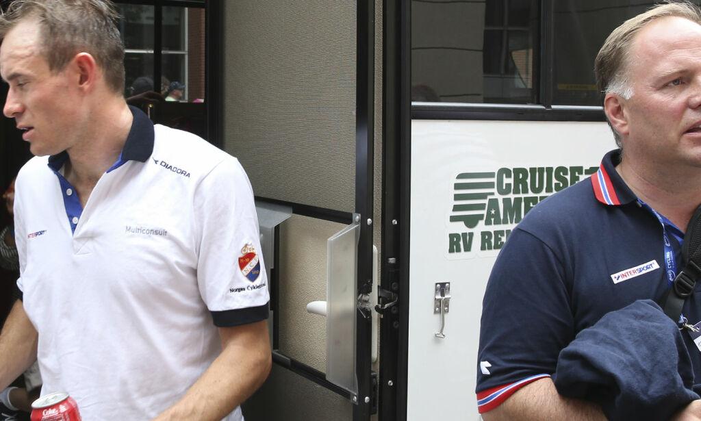 image: Kristoff får ikke bruke Ørn som personlig trener