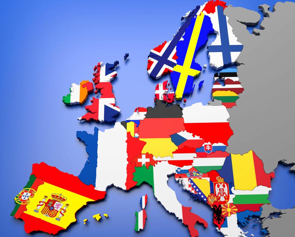 land som snakker engelsk