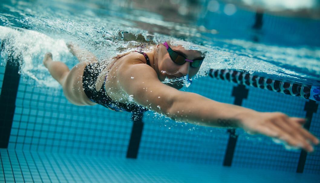 SVØMMIN: Å svømme kan være bedre enn løping i noen tilfeller. FOTO: NTB Scanpix