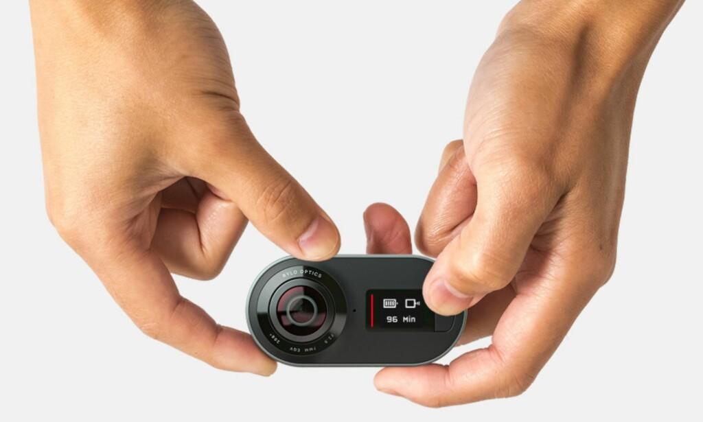 FANGER ALT: Rylo filmer i 360 grader slik at alt rundt deg blir med, og i etterkant kan videoen redigeres på en smart måte. Foto: Rylo