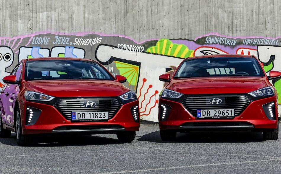 ÅRETS BIL FOR KVINNER: Hyundai Ioniq har av kvinnelige motorjournalister blir kåret til World Womens Car of the Year. Foto: Jamieson Pothecary