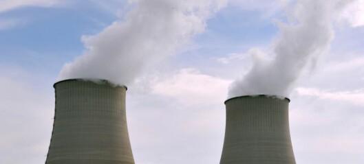 Mangler vann - stenger atomreaktorer