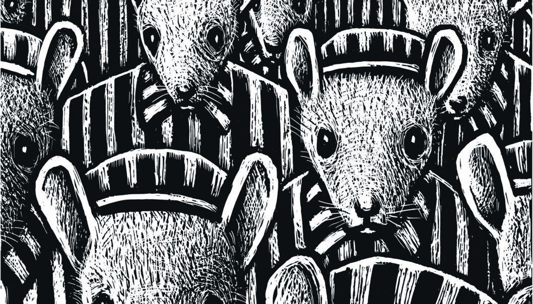 <strong>Holocaust:</strong> I serien tegnes jødene som mus, nazistene som katter og polakkene som griser. Foto: Minuskel