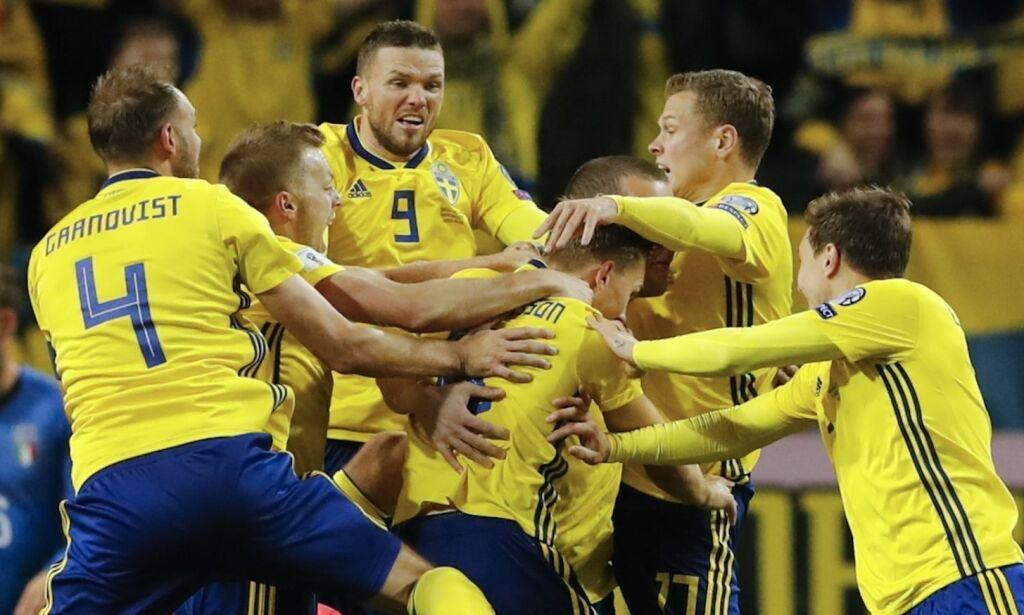image: Svensk sensasjon mot Italia: - Der fikk dere, filmere!