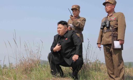 image: Nord-Korea raser mot Trumps Asia-turné: - Han trygler om en atomkrig