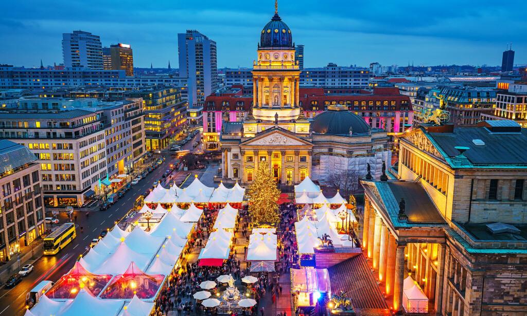 FLOTT: Gendarmenmarkt i Berlin er et mektig skue.