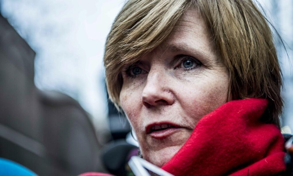 I FORHANLDINGER: SSB-direktør Christine Meyer og Finansdepartementet. Foto: Thomas Rasmus Skaug / Dagbladet