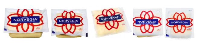 <strong>KLASSISK KONKURRANSEPRODUKT:</strong> Kiloprisen på ettkilos Norvegia er et klassisk produkt som kjedene ønsker å være billigst på. Kiloprisen starter på 95,4 kroner for ettkilostykker (Rema 1000), 105,8 kroner for halvkilostykker (Kiwi), 185,56 kroner revet (Coop Mega), 119,37 kroner (Rema 1000) for en stor skivet pakke og 170 kroner kiloet for en 150-gramspakke med mindre skiver (Kiwi). Foto: Produsenten